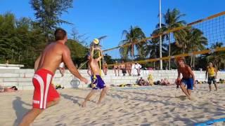 Пляжный волейбол  Топ   11 розыгрышей  Таиланд 2017
