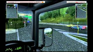 Niko bellic plays UK Truck Simulator