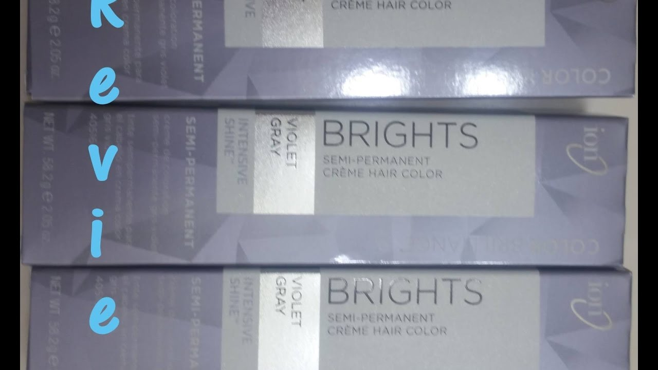 Ion Color Brilliance Semi Permanent Review Youtube