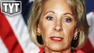 Betsy DeVos Caught Not Paying Taxes