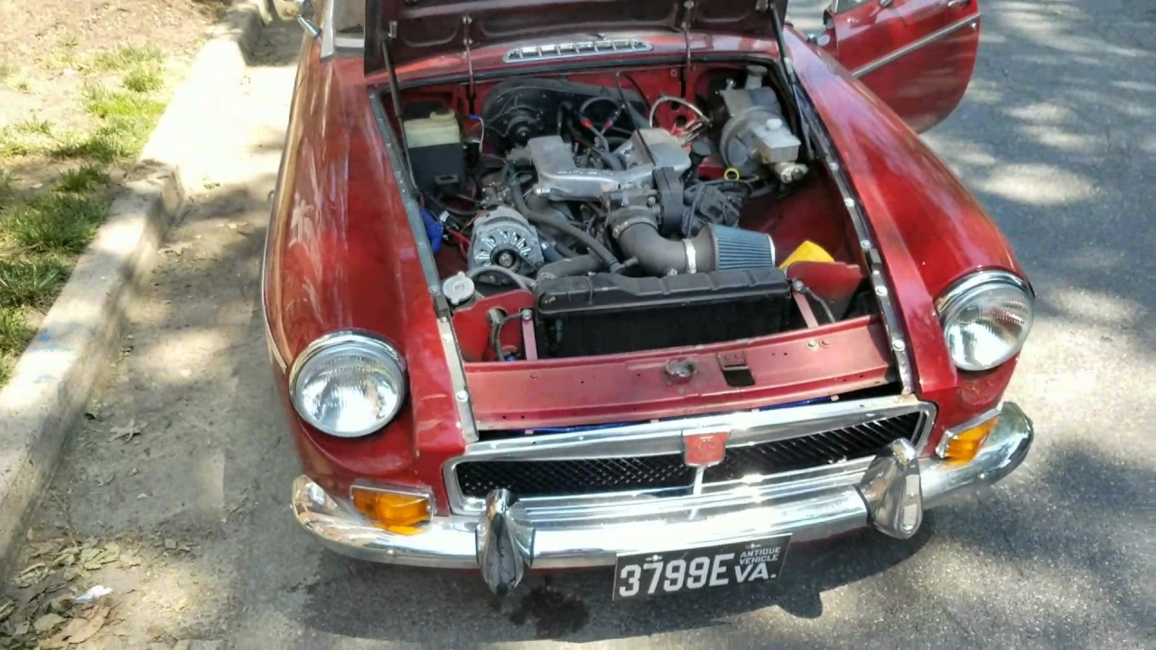 1977 MGB with 3 4 V6 and Rebuilt T5 For Sale $6,500