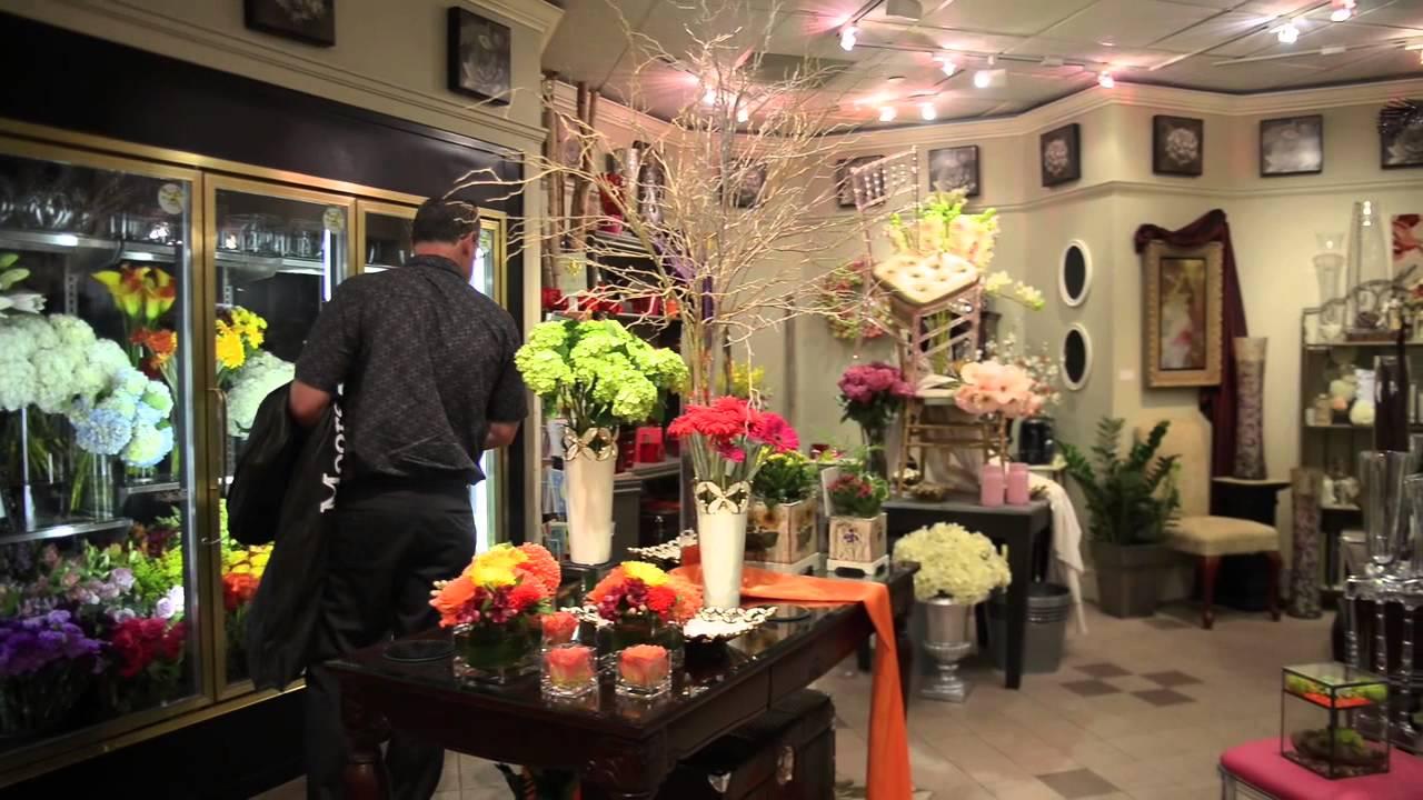 Tidy's | Toronto's Downtown Flower Shop - YouTube