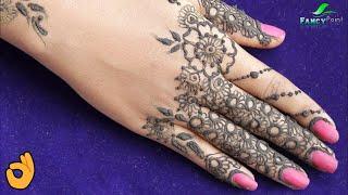 WOW ! How to Apply Mehndi Design 💕 Latest Mehndi 💕Diwali Special Mehndi