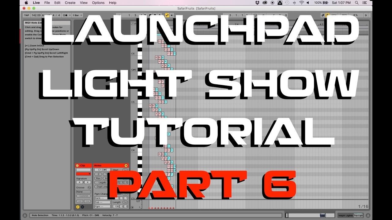 launchpad mk2 lightshow tutorial
