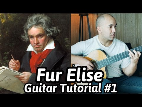 Fur Elise | Beethoven | Classical Guitar Lesson #1 (of 2) | NBN Guitar