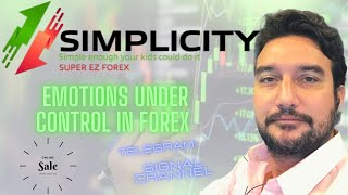Need a Forex system that manage your emotions?! Simplicity Trading System is the answer! Live proof!