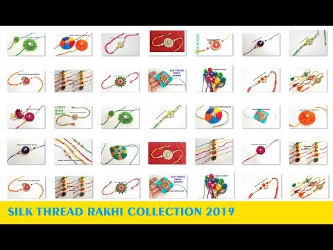 60 New rakhi designs 2019 // rakhi photos // Rakhi Images // My Over all rakhi Collection
