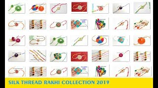60 New rakhi designs 2019 // rakhi photos // Rakhi Images // My Over all rakhi Collection