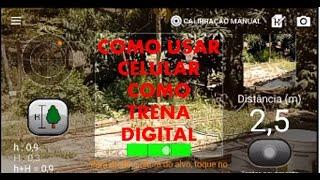 Como usar celular como trena{medida digital
