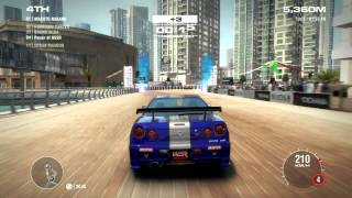 Grid 2 Gameplay Nissan Skyline