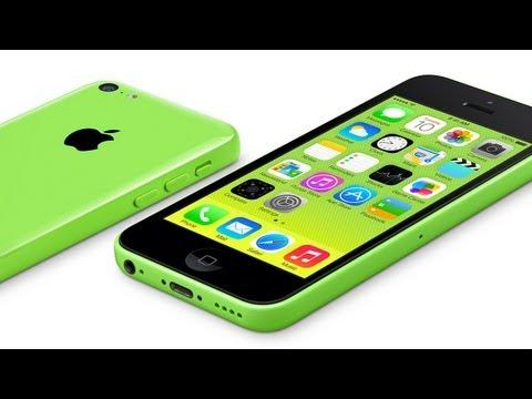 Презентация iPhone 5C на русском