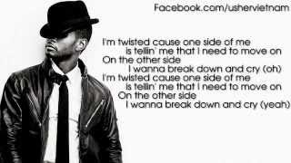 Usher - Burn [Lyrics Video]