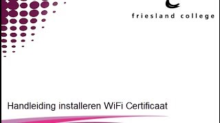 Handleiding installeren WiFi Ipad of Iphone
