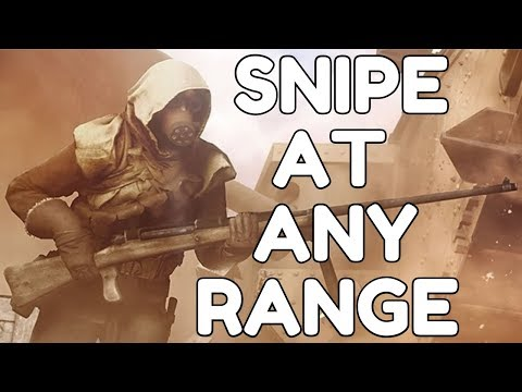 BF1 - How to Reliably Snipe At Any Range