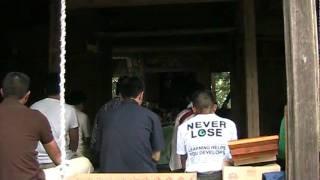 木幡山学頭愛宕神社の三匹獅子舞 二 2009.8.2