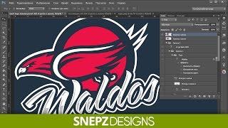 Tutorial Создаем логотип для команды в Photoshop