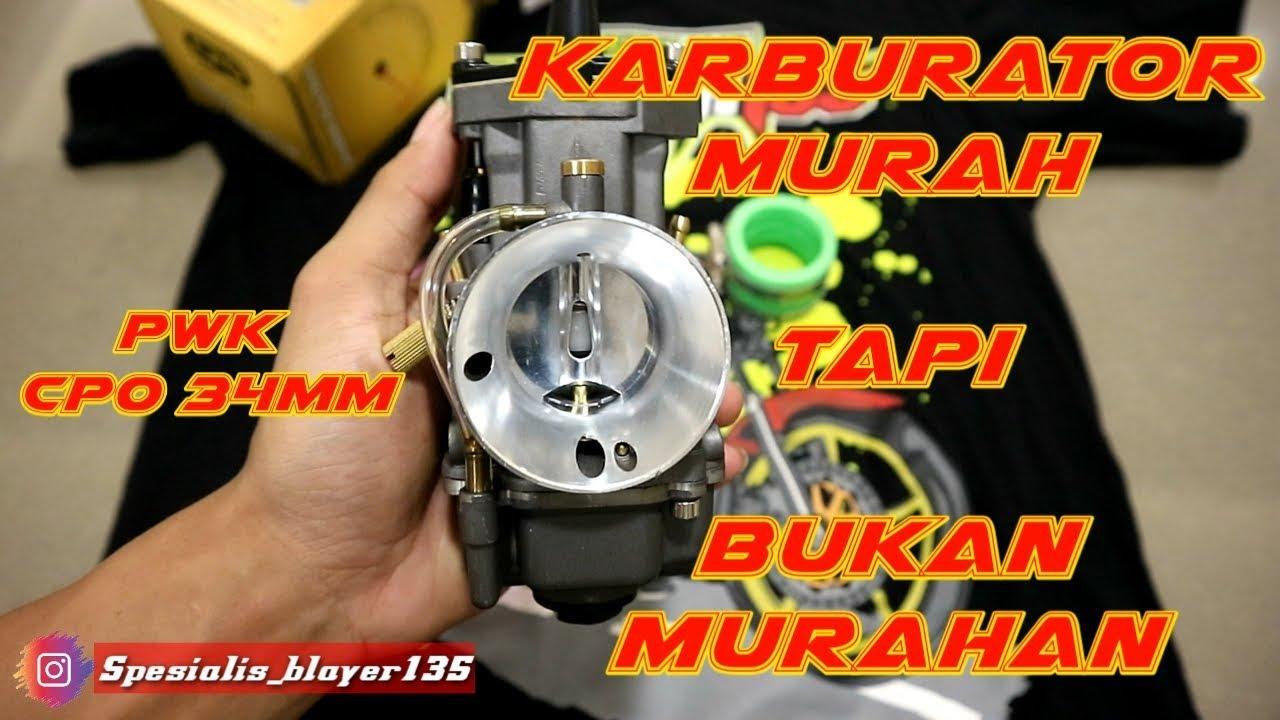 Karburator PWK murah tapi enak & gampang setting // PWK