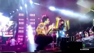 Niño acordeonero de 6 años toca con Silvestre en concierto en Baranoa thumbnail