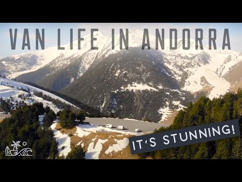 48HRS IN ANDORRA (What went WRONG) //  FULL TIME in a Van in the Andorran Mountains PYRENEES