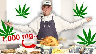 Cooking Thanksgiving Dinner but It's Edibles