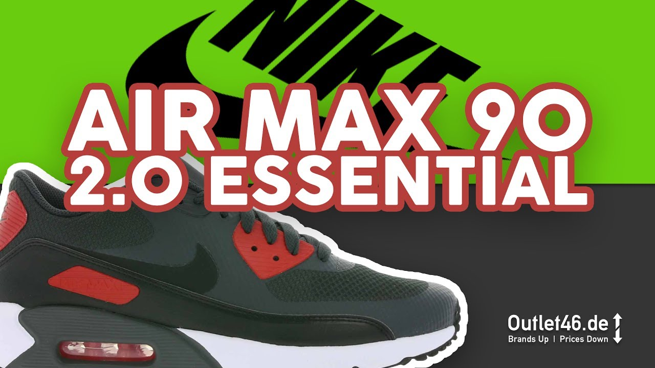 e3494f77602 NIKE Air Max 2 0 Ultra Essential das NIKE Flagschiff DEUTSCH Review l  Unboxing l Overview l Outlet46