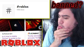 roblox tiktok is IN TROUBLE right now...