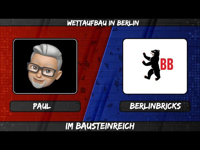 Vlog #3 - Wettaufbau in Berlin im Bausteinreich - die Location, der Gewinner, die Niederlage...