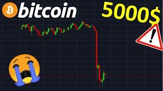 BITCOIN 5000$ LE RETOUR !? btc analyse technique crypto monnaie