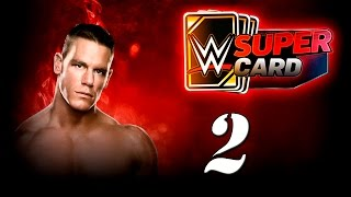 WWE SUPERCARD Карточные бои! №2 (Android)