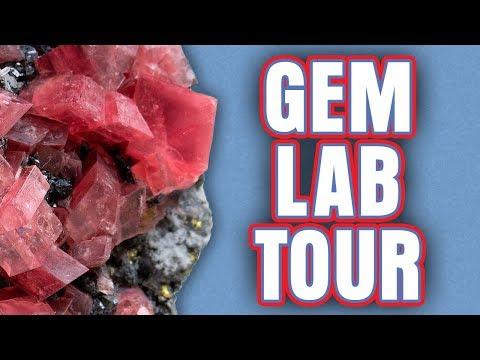 Collector's Edge Gem Lab Tour!