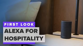 Alexa is coming to your hotel room