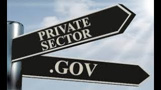 Three Things Government Does Better than The Private Sector