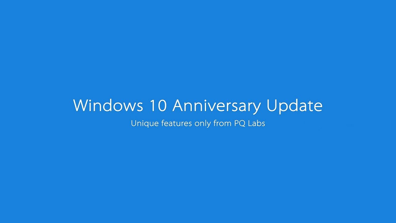 Windows 10-Anniversary Update out: How to Get It Now