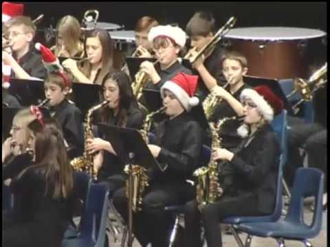 Fort Gratiot Middle School Winter Band Concert December 11th 2014