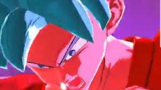 SSB Goku Kaioken Ataque de Animación!!! DB Legends
