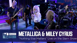 """Download Miley Cyrus and Metallica """"Nothing Else Matters"""" Live on the Stern Show"""