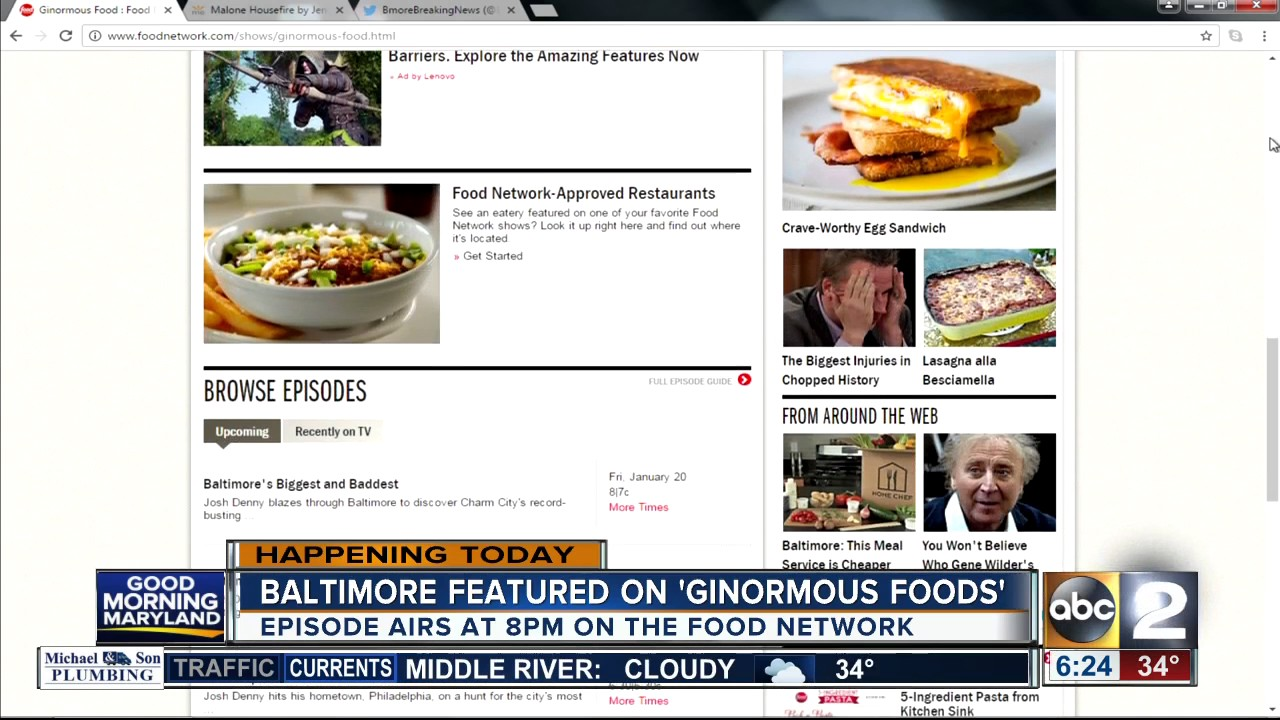 Three Baltimore restaurants featured on the Food Network\'s ...