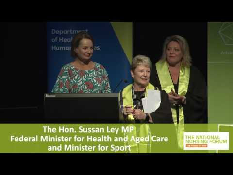 The Hon Sussan Ley MP Federal Minister for Health and Aged Care and Minister for Sport
