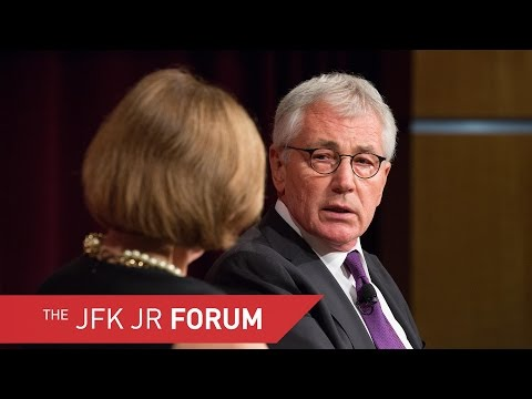 A Conversation with The Honorable Chuck Hagel