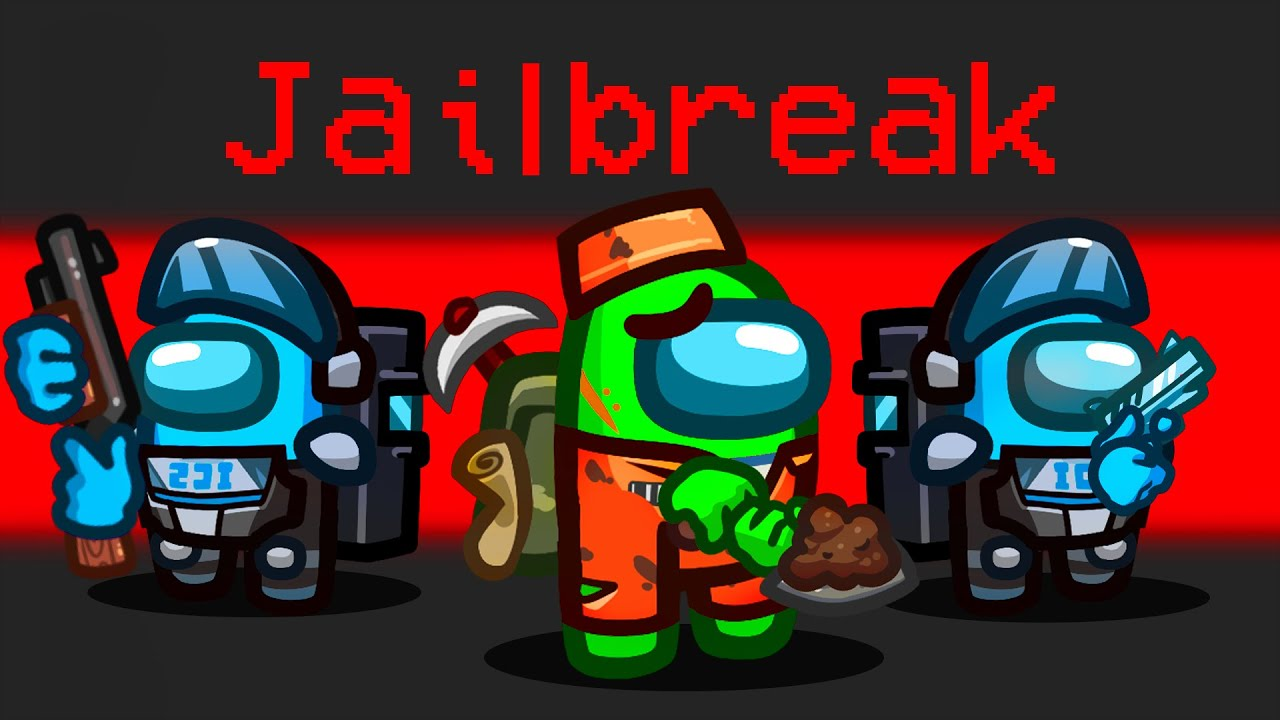 Impossible JAILBREAK in AMONG US!