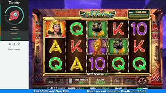Book Of Cleopatra - Power Spins - Mega Win