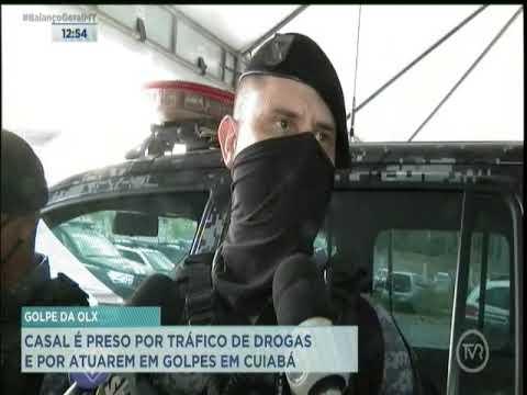 Casal é preso por tráfico de drogas e por atuar em golpes