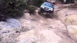 Going up El Hill 2010
