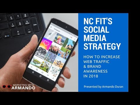 NC FIT'S SOCIAL MEDIA STRATEGY: How To Increase Web Traffic & Brand Awareness In 2018