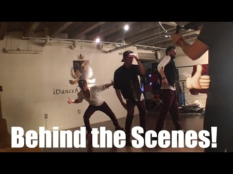 """Dancers Learning Choreography BEHIND THE SCENES- Usher """"Trading Places"""""""