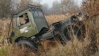 UNIMOG в болоте как Suzuki Vitara, УАЗ на БТРовских едет КРУТО off road 4x4