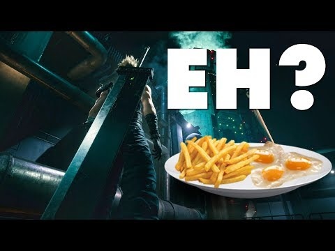 Final Fantasy VII Remake E3 2019 Gameplay - Honestly I'm Underwhelmed (OMGH)