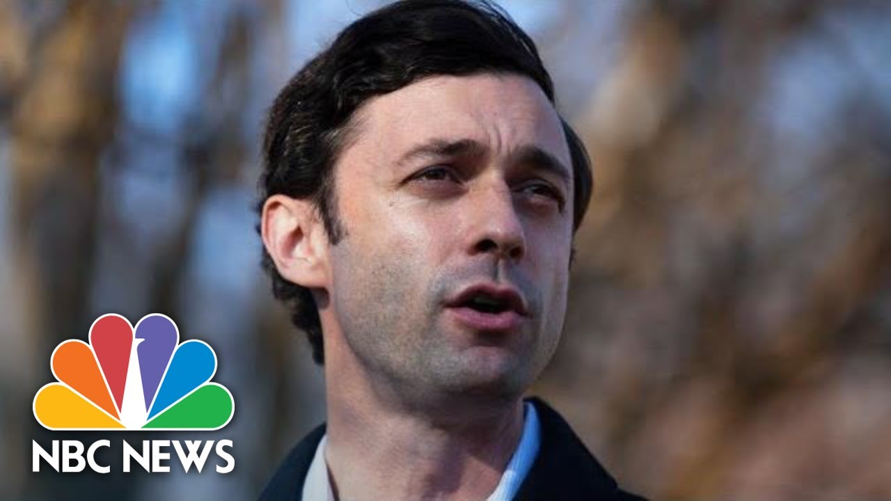 Jon Ossoff Delivers Remarks On Election Results   NBC News