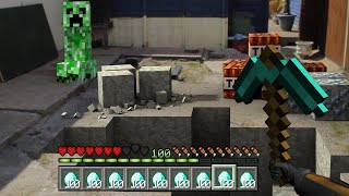 If Minecraft Was In Real Life