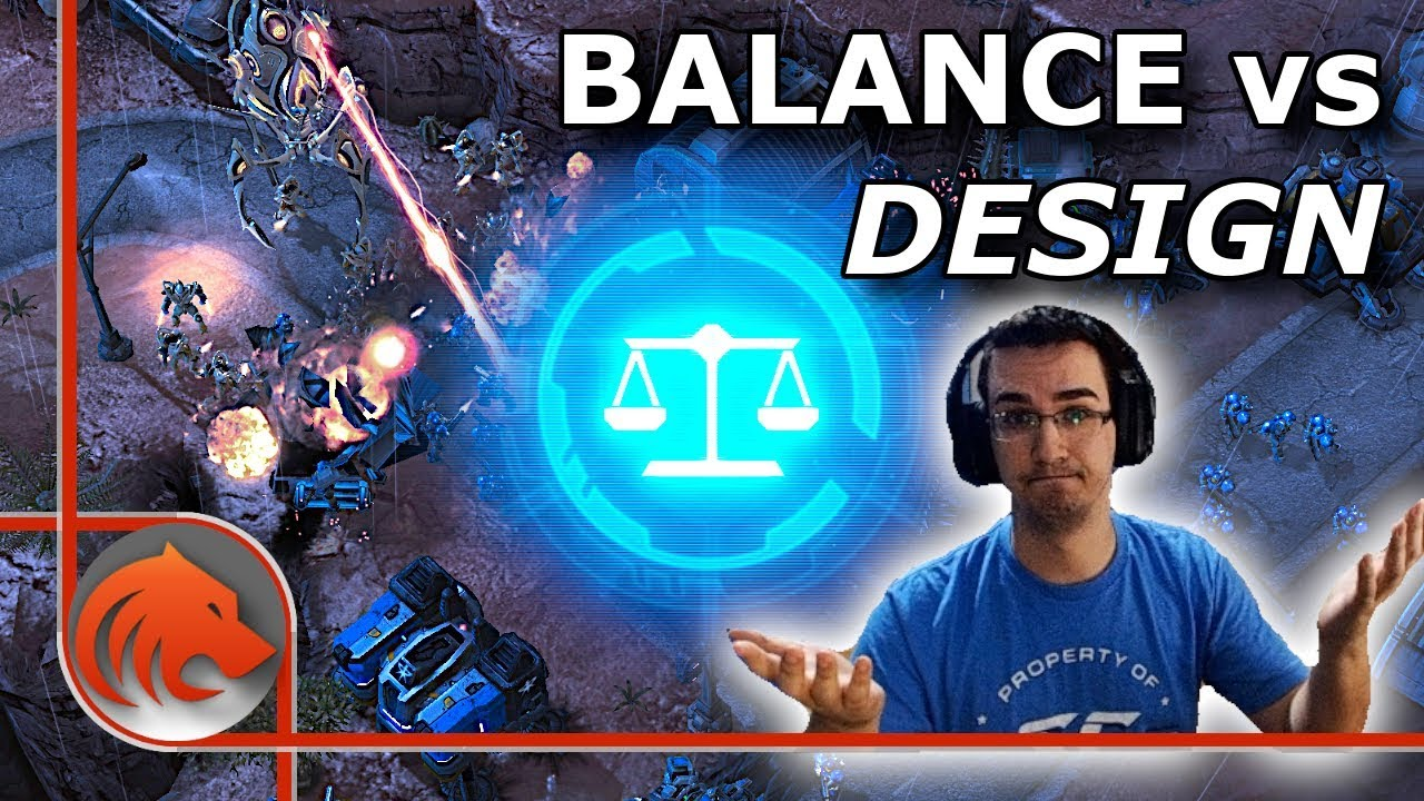 What S More Important In Starcraft 2 Game Balance Or Game Design Youtube